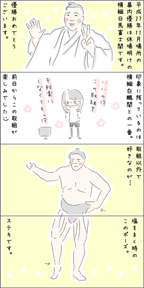 九州場所の優勝は横綱日馬富士関