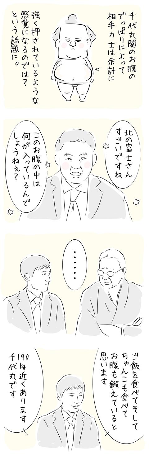 北の富士さんの名言集「………」