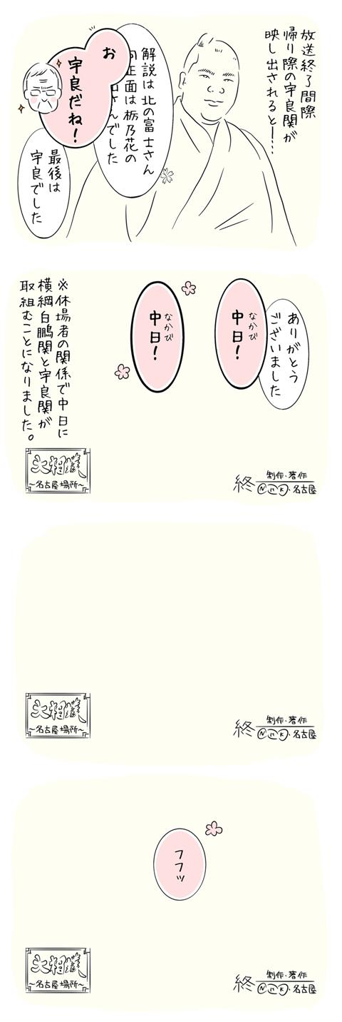 北の富士さんの名言集「(アナウンサーの言葉をさえぎって)中日!中日!」