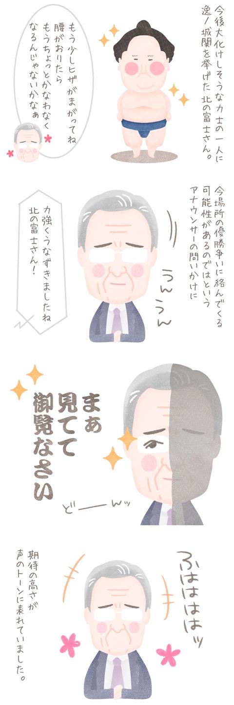 北の富士さんの名言集「まぁ見ててご覧なさい」